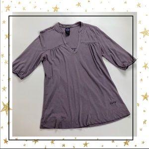 Lucky Brand Size Small  purple top tunic (Ho23K5V)